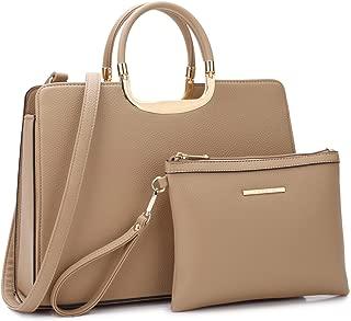 Women's Fashion Handbag Ladies Tote Shoulder Bags Satchel Purse Top Handle Work Bag with Matching Wallet