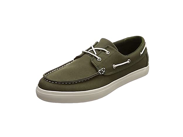 TALLA 44.5 EU. Timberland Newport Bay 2 Eye Canvas, Mocasines para Hombre
