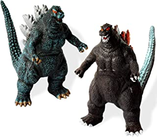HUALEDI [2 Pack] Godzilla Toys,[10-7-3 inch] Godzilla Action Figures with [Cutlery Grade pc Material][Realistic Model] Suit for Age 3+