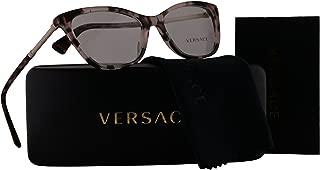 Versace VE3248 Eyeglasses 54-16-140 Pink Havana w/Demo Clear Lens 5253 VE 3248