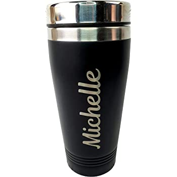 Personalised Etched Initials Reusable Coffee Cup