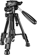 Neewer Mini Travel Tabletop Camera Tripod 24 inches/62 centimeters, Portable Aluminum with 3-Way Swivel Pan Head for DSLR ...