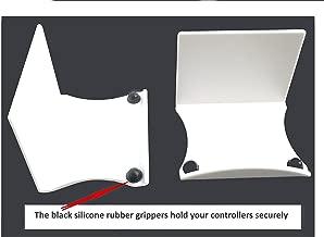 eLhook Stick-On White XL Game Controller Hooks 2 Pack