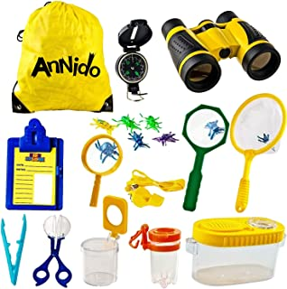 96 Piece Survival Favors /& Prizes 24 Compasses Hikes 24 Toy Binoculars Outdoor and Adventure Theme Parties Great for Scouts Camping Explorer 24 Magnifying Glass 24 Flashlights