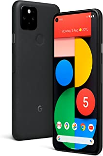جوجل بيكسل 5 128 جيجا + 8 جيجا 5G فاكتوري نسخة جوجل غير مقفلة - اسود