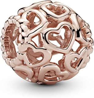 Pandora Openwork hearts Rose charm Charm - 780964