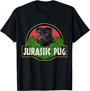 Funny Pug Jurassic Pug for Dog Lovers to Halloween T-Shirt