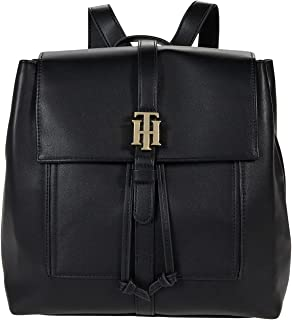 Tommy Hilfiger Marie-Flap Backpack-Smooth Grain PVC