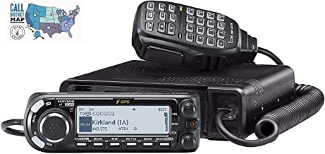 Bundle - 2 Items - Includes Icom ID-4100A 50W VHF/UHF Dual Band D-Star Mobile Transceiver and Ham Guides TM Quick Reference Card