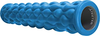 Teeter Massage Foam Roller - Textured for Deep Tissue Muscle Relief to Boost Recovery, Flexibility, Mobility - Back Pain Relief, Sports Massage, Myofascial Release