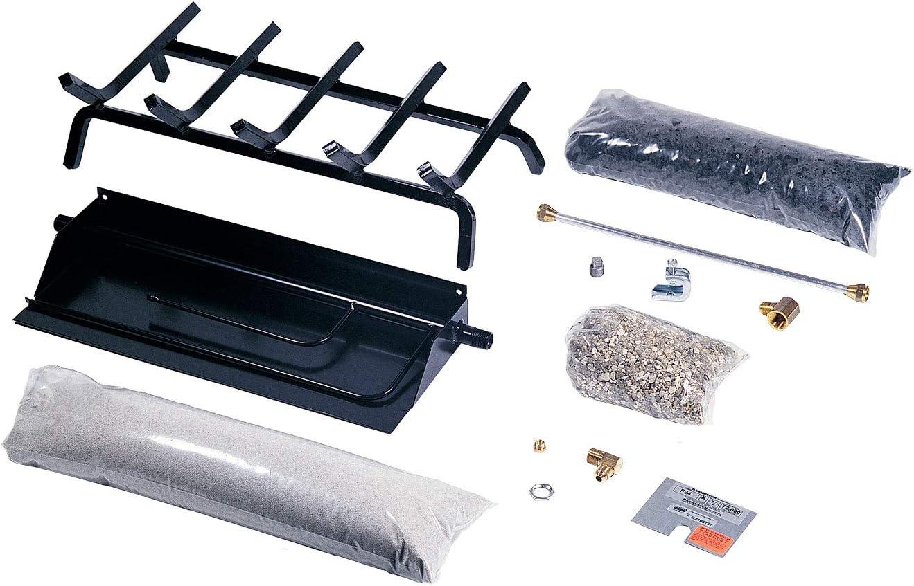 Rasmussen Flaming Ember Xtra Burner overseas and Grate Kit FX36-HFG-N Max 72% OFF