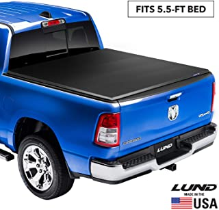 Lund 95872 Genesis Elite Tri-Fold Truck Bed Tonneau Cover for 2004-2014 Ford F-150; 2010-2014 Raptor; 2006-2014 Lincoln Ma...