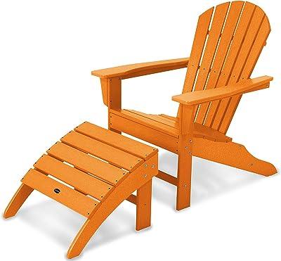 Amazon.com: King Teak Adirondack - Juego de silla y ...