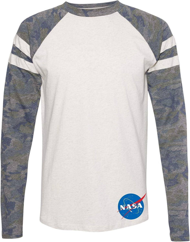 OmniTee NASA Insignia Meatball Logo Soldering Mash Long Sleeve Up Camo Weekly update Jer