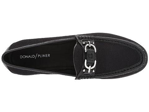 Sale 2018 Unisex Top Quality For Sale Donald J Pliner Suzy Black Canvas Shop Offer Cheap Online Discount Purchase Best Place Cheap Online qfGhCc