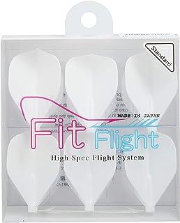 COSMO DARTS フライト Fit Flight スタンダード ホワイト 6枚入り