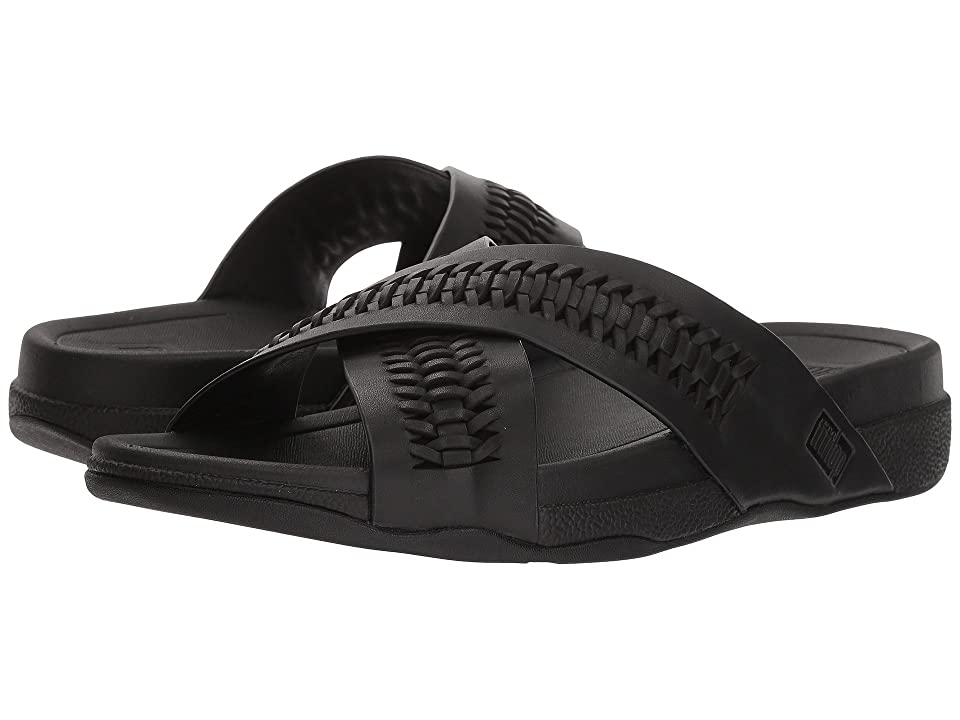 FitFlop Surfer Slide (Black) Men