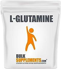 BulkSupplements.com L-Glutamine - BCAA Powder - Glutamine Supplement (1 Kilogram - 2.2 lbs - 1000 Servings)