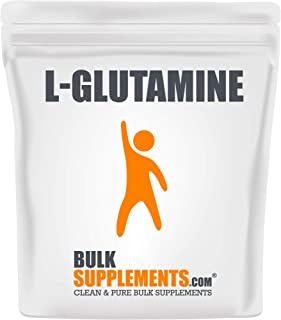 BulkSupplements.com L-Glutamine (250 Grams - 8.8 oz - 250 Servings)