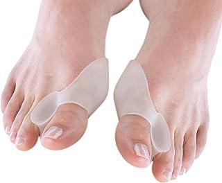 SUPVOX - Separadores de dedos de gel para juanetes, corrector de dedos contra el dolor