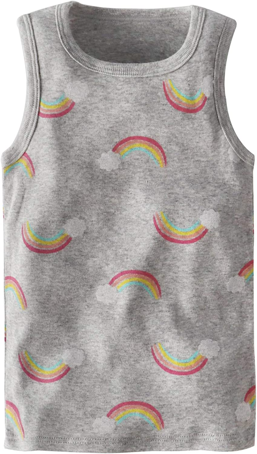 Huaer) Toddler Boys' 2-3 Pack Tank Tops (Rainbow, 3T)