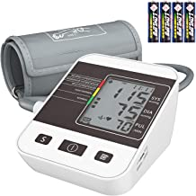 Blood Pressure Monitor for Home Use with Large LCD Display,Annsky Digital Upper Arm..