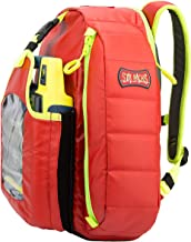 Statpacks G3 QuickLook AED Red, AED Backpack, EMS AED Container, Quick View Design, Easy Access AED Medic Bag for EMS, Police, Firefighters