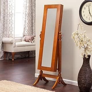 heritage jewelry armoire cheval mirror