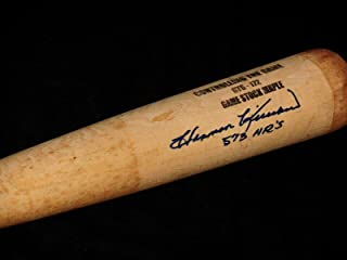 Harmon Killebrew Signed Bat -) - Spring Training Used ! - Autographed MLB Bats