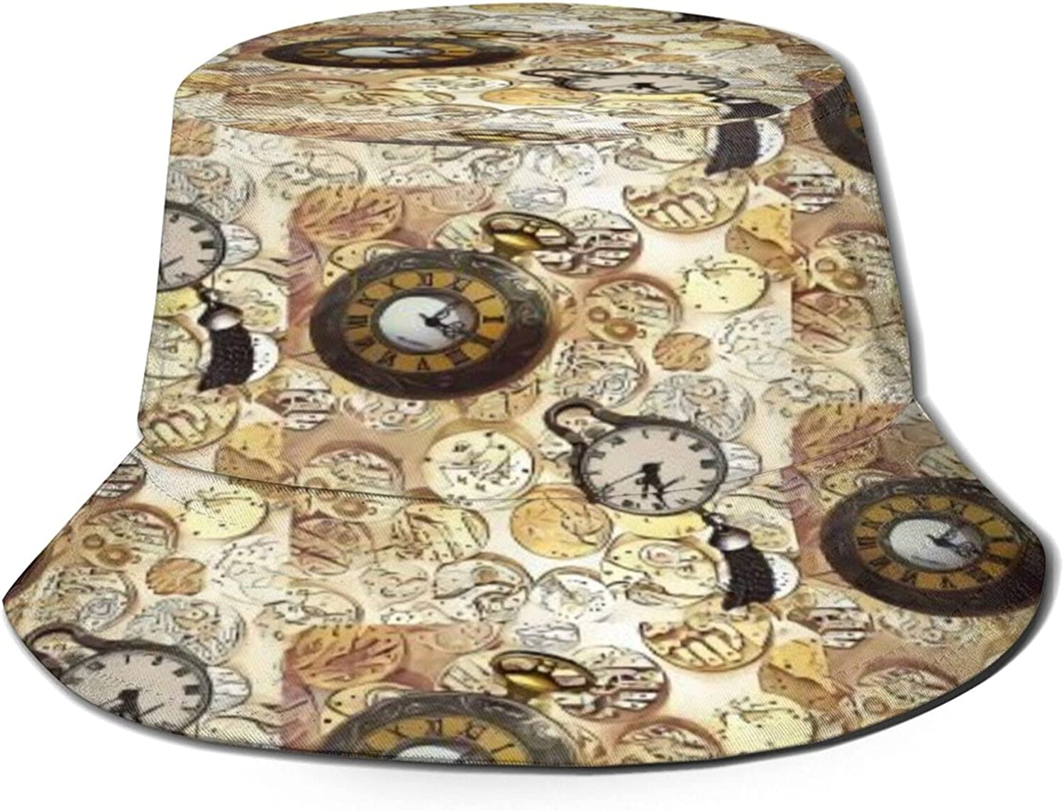 Watchparts Steampunk Bucket Hat Unisex Summer Brand new Bombing free shipping Sun Packable F