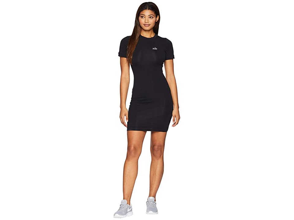 Nike Sportswear Graphic Dress (Black/White) Women