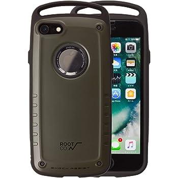 【ROOT CO.】iPhone7 iPhone8 ケース 耐衝撃 GRAVITY Shock Resist Case Pro. (マットカーキ)米軍MIL規格取得