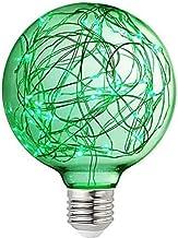 XXT Scenario Lights, Creative Festive Mood Lights, kleurrijke Decoratieve Bollen (2 Pack) (Color : Green, Size : E26/E27)