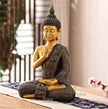 PPCP 38cm Large - Wholesale Buddhist Supplies # Home Family Bless Safe Good Luck Buddha - Sitting Buddha Art Statue