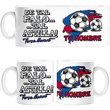 Diver Bebé Taza de Tal Palo Tal Astilla aupa Athletic Personalizable con Nombre - Cerámica: Amazon.es: Hogar