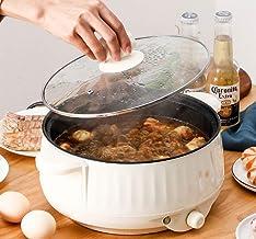 LONGSAND Cuisinière électrique multifonctionnelle Gril électrique poêle à Frire Table de Cuisson à Riz Fabricant de Soupe ...