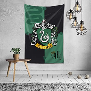 Sly-therin Tapestry Wall Hanging Fashion Home Decoration Wall Blanket Dormitory Living Room Bedroom 60x40inch