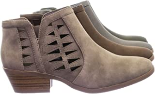 13116c49d2263 Amazon.com: Grey - Ankle & Bootie / Boots: Clothing, Shoes & Jewelry