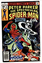 SPECTACULAR SPIDER-MAN #22 Early Moon Knight appearance VF/NM
