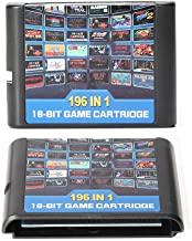 196 in 1 Game Cartridge 16 bit Game Card For Sega Mega Drive Genesis Console