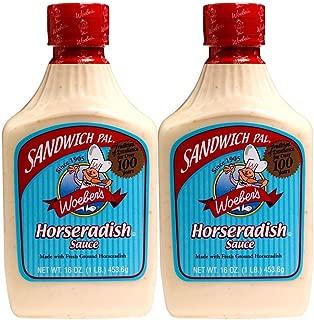 Woeber's Horseradish Sauce (2 - 16 oz)