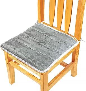 Ohiyoo Cojín de silla con lazos ergonómicos de espuma viscoelástica para aliviar el coxis, para silla de oficina, coche, sofá, silla de ruedas, reduce el dolor, aumenta la comodidad del asiento.