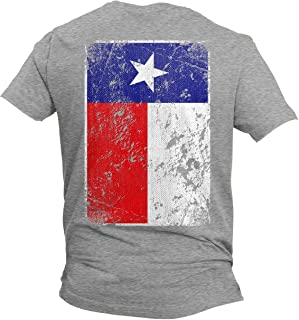 Distressed Texas Flag - USA Lone Star State Men's T-Shirt