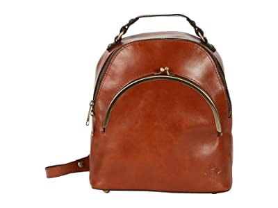Patricia Nash Heritage Montioni Convertible Backpack (Tan/FB Scarf) Backpack Bags