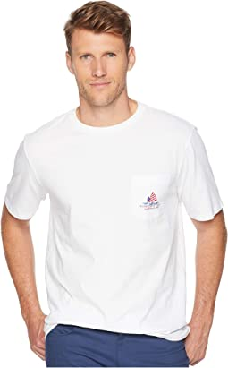Short Sleeve American Sail Pocket Tee