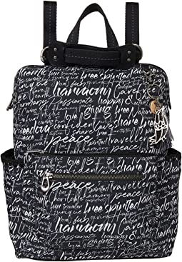 Eco-Twill Loyola Convertible Backpack