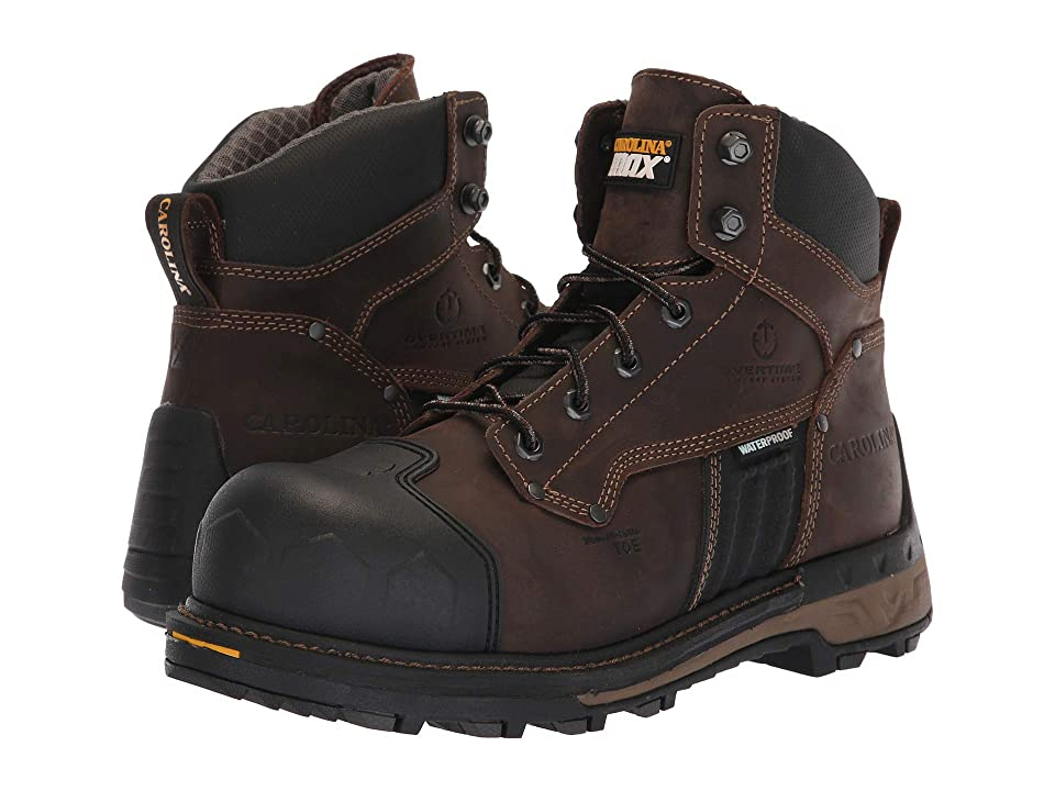 ea4d51556797 Carolina 6 Maximus 2.0 Waterproof Composite Toe Work Boot CA2561 (Buster  Coffee Bean) Men s Work Boots