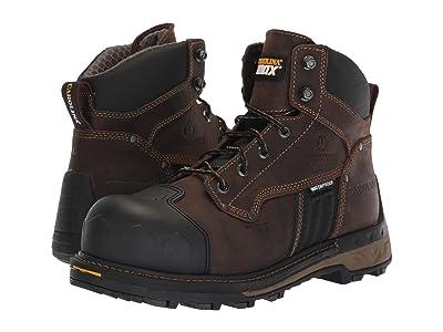 Carolina 6 Maximus 2.0 Waterproof Composite Toe Work Boot CA2561 (Buster Coffee Bean) Men