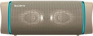 ソニー ワイヤレスポータブルスピーカー SRS-XB33 : 防水/防塵/防錆/Bluetooth/重低音モデル/マイク付き/ライティング機能搭載 / 最大24時間連続再生 2020年モデル / ベージュ SRS-XB33 C