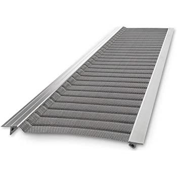 "Stainless Steel Micro-Mesh, Raptor Gutter Guard: A Contractor-Grade DIY Gutter Cover That fits Any roof or Gutter type-48ft to a Box and fits a 5"" Gutter."